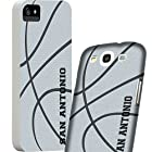 Cellular Outfitter Samsung Galaxy S II Skyrocket SGH-i727 City of San Antonio Basketball Case/Cover -Silver & Black