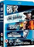 Lone Survivor / Zero Dark Thirty / Safe House / Green Zone / Contraband [Blu-ray] [2010] [Region Free]