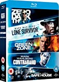 Lone Survivor / Zero Dark Thirty / Safe House / Green Zone / Contraband [Blu-ray] [2010] [Region Free]