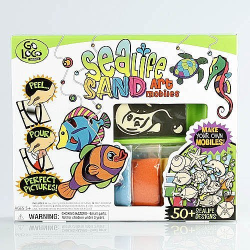 Giddy-Up Go Loco Sealife Sand Art Mobiles - 1