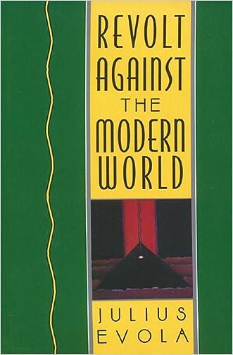 Revolt Against the Modern World written by Julius Evola