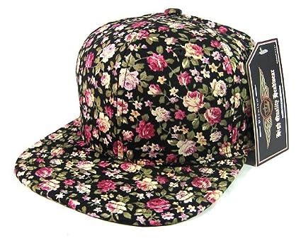 Floral Snapback Hats For Girls Plain Floral Snapback Hats