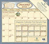 Legacy of Faith 2014 Magnetic Calendar Pad with Scripture, Faithful Moments