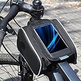 Roswheel bicicletta della bici frontale superiore del tubo Telaio Pannier doppio sacchetto del sacchetto per 5.5 pollice mobile ipone 6/ 6s / 6 plus
