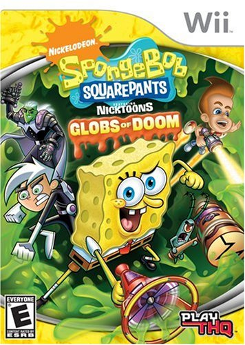 SpongeBob SquarePants featuring NickToons: Globs of Doom - Nintendo Wii