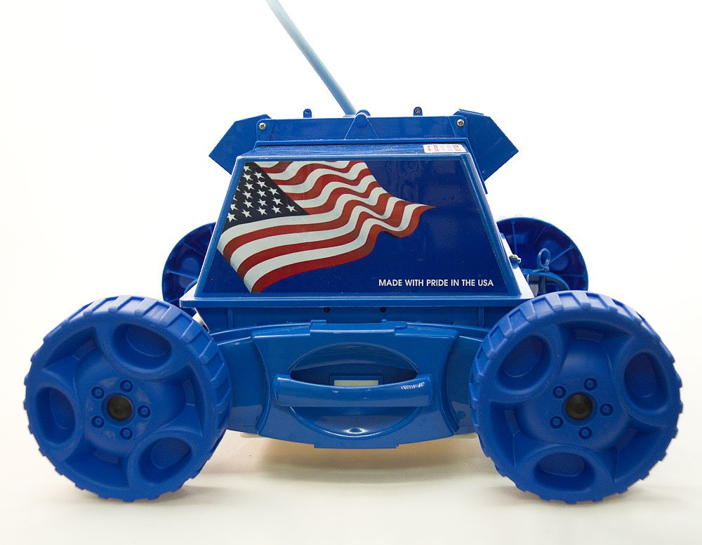 Amazon.com : Aquabot APRVJR Pool Rover Junior Robotic Above-Ground ...