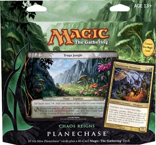 Magic The Gathering- Mtg: Planechase (2012 Edition) Chaos Reigns - Game Pack front-708621