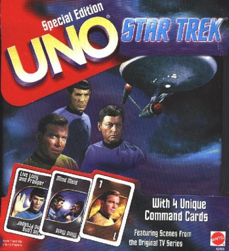 Star Trek UNO - Special Edition - Collectors Tin - Card Game