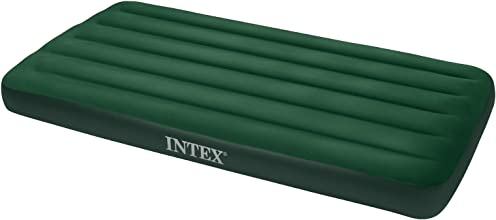 Intex Prestige Downy Airbed Kit with Hand Held Battery Pump Twin