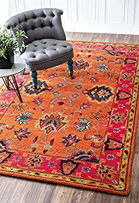 Handmade Overdyed Persian Wool Area Rugs