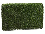 "Artificial Boxwood Hedge 21.5""hx9""wx36""l"