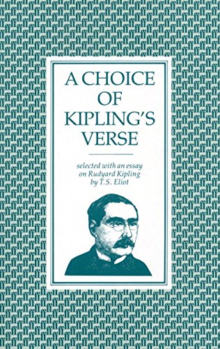 A Choice of Kipling's Verse