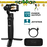 3axis Gimbal Stabilizer for GoPro Action Camera Handheld Pro Gimbal Tripod Stick with Motion Time-Lapse APP Control for Gopro Hero 7,6,5,4,3,SJ CAM,YI Cam,Sony RXO - Hohem (Color: Black Gopro Gimbal, Tamaño: Portable Gopro Gimbal Stabilizer)