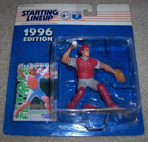 1996 Ivan Rodriguez MLB Starting Lineup - 1