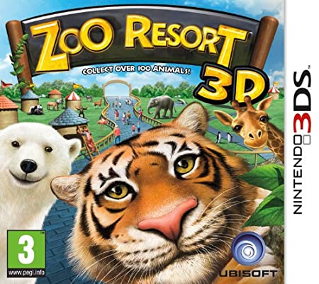 Zoo Resort 3D (Nintendo 3DS)