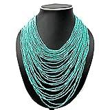 Joyeria Milan Torquice Multi Layer Necklace