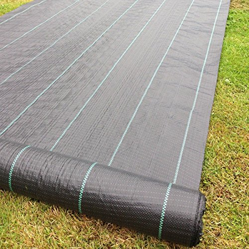 yuzet-45-x-11-m-100-g-heavy-duty-weed-control-ground-cover-membrane-landscape-fabric