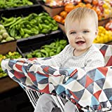 Skip Hop On The Go 2-in-1 Take Cover Grocery Cart and High Chair Cover, Multi
