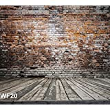 LB 8x8ft Brick Wall Poly Fabric Customized photography Backdrop Background studio prop WF20