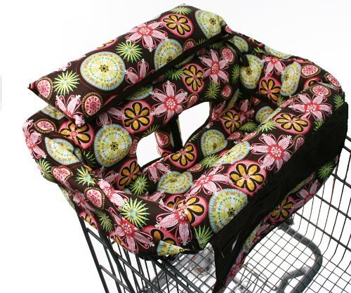 buggy-bagg-elite-shopping-cart-cover-baby-blooms-discontinued-by-manufacturer-by-triple-8-corp
