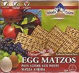 Yehuda Egg Matzos Kosher Jewish Food (Kosher for Passover), Matza Ashira 300g