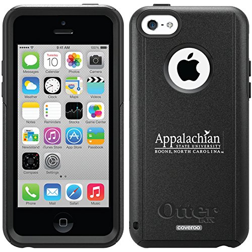 Appalachian State Boone Design On A Black Otterbox® Commuter Series® Case For Iphone 5C