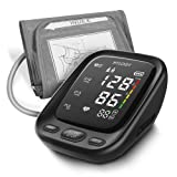 Blood Pressure Monitor, HYLOGY Upper Arm Blood Pressure Machine with 2-Users 180-Reading Memories, Large LED Display and Adjustable Cuff, Support Type-C Charge (Tamaño:  Large )
