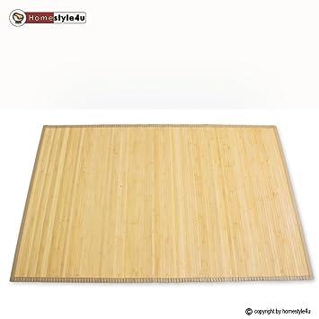 Tapis en bambou paillasson paillasson plancher de tapis tapis de sol sol - Tapis bambou grande taille ...