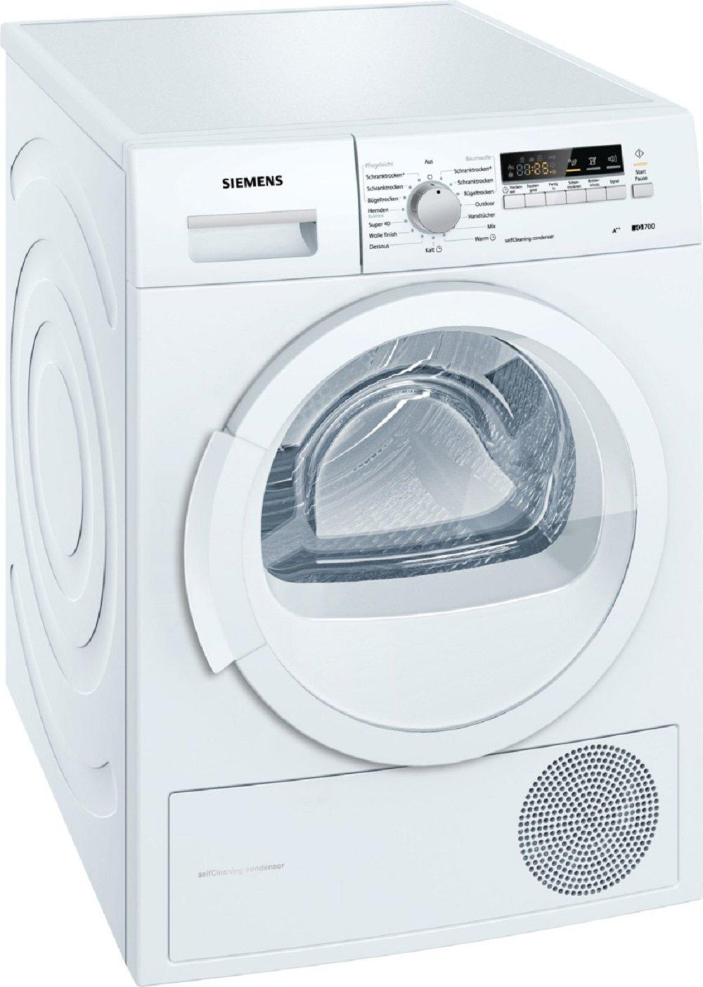 Siemens WT46W261 Wärmepumpentrockner
