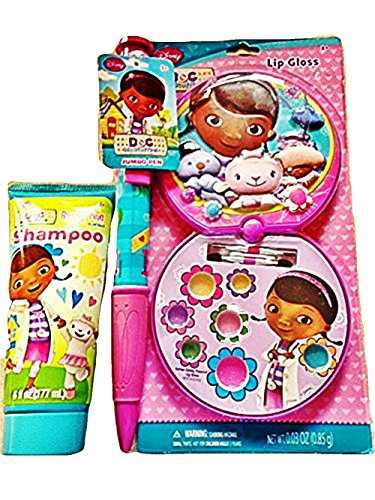 Disney Doc Mc Stuffins 3 Piece Gift Set Shampoo Lip Gloss + Jumbo Pen - 1