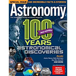 1-Year (12 issues) of Astronomy Magazine Subscription