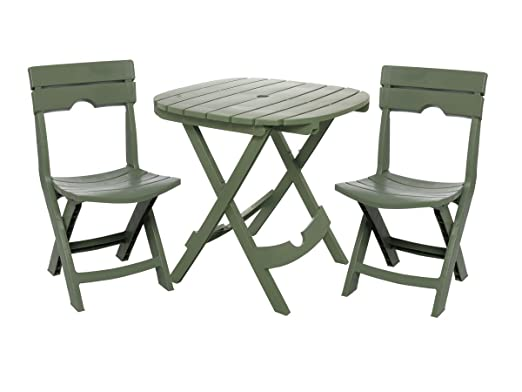 Available In A Choice Of Three Different Colors, This Three Piece Patio Set  Comes Complete With Two Chairs And A Small Table To Create An Intimate  Outdoor ...
