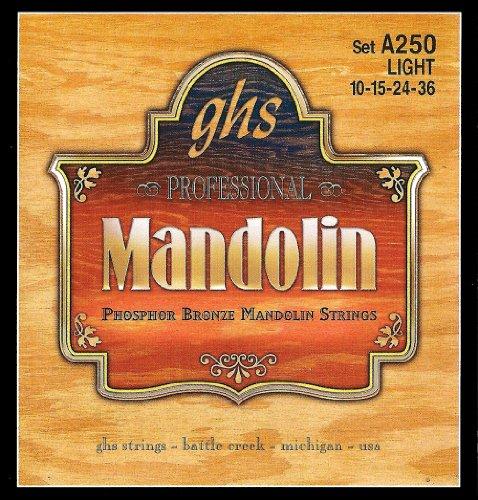 Ghs Strings Mandolin Set (Light Phosphor Bronze)