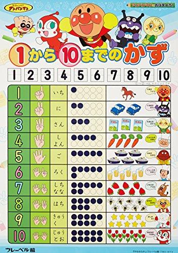 1から10までのかず アンパンマンとおぼえよう! ([レジャー])
