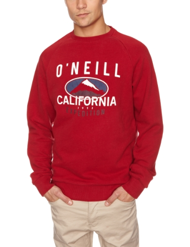 O'Neill Expedition Crew Sweat Men's Sweatshirt Rio Red Medium