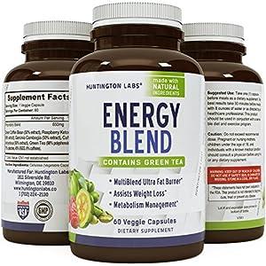 Extra Strength Energy Blend Appetite Suppressant / Fat Burner Made
