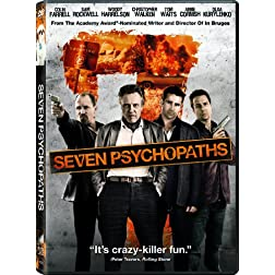 Seven Psychopaths (+UltraViolet Digital Copy)