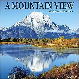 2016 Mountain View Wall Calendar