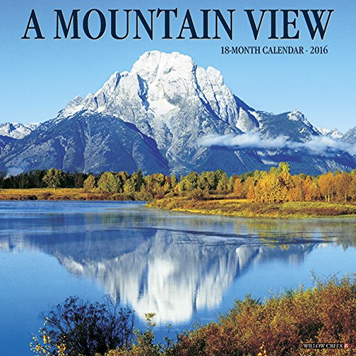 2016 Mountain View Wall Calendar