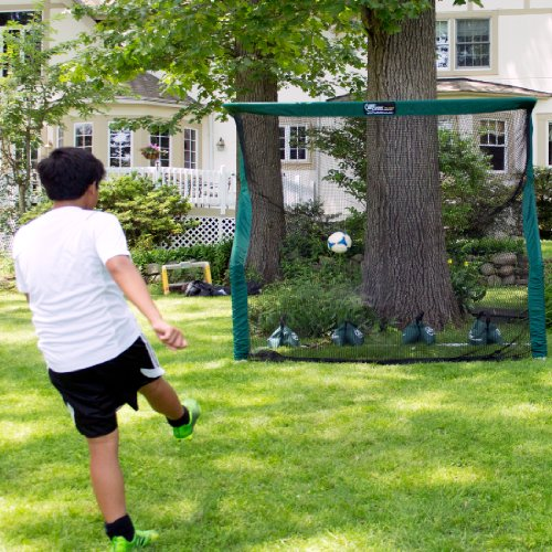 backyard soccer goal net and rebounder image 8 pictures to pin on