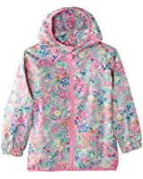 Joules Girl's Junior Skye Waterproof Mac Floral Raincoat