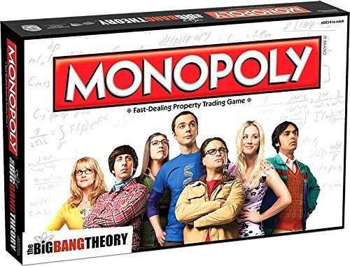 Monopoly Board Game - The Big Bang Theory by Monopoly