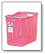 Like-it Plastic Laundry Basket, 15.47-Inch H by 12.20-Inch W by 18.70-Inch D