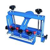 TECHTONGDA Micro-Registration Screen Printing Hinge Clamp for Silk Screen Printing Machine Hobby Screen Printer