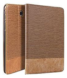 Qinda Luxury Leather Smart Flip Case cover for Samsung Galaxy Tab A 8.0 8