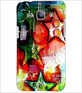 PrintDhaba Art Hub D-1244 Back Case Cover for SAMSUNG GALAXY J1 (Multi-Coloured)