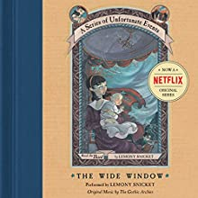 The Wide Window: A Series of Unfortunate Events #3 Audiobook by Lemony Snicket Narrated by Lemony Snicket