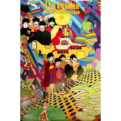 Beatles Poster Yellow Submarine Beatles Yellow Submarine
