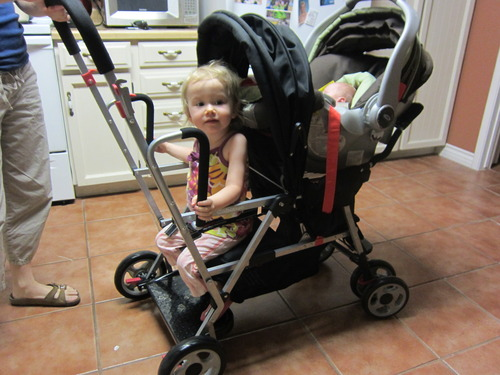 Buy Cheap Joovy Caboose Stand On Tandem Stroller