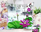 5d Cross stitch pillowcase handicraft sofa cushion embroidery pillowcase hone decoration